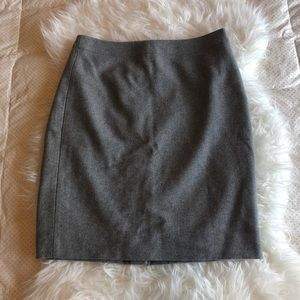 J. Crew Pencil Skirt - Charcoal Grey - Size 6 NWOT